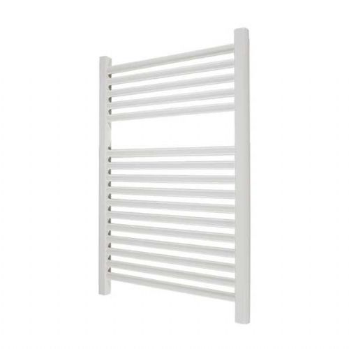 Abacus Elegance Linea Straight Towel Rail - 750mm x 400mm - White